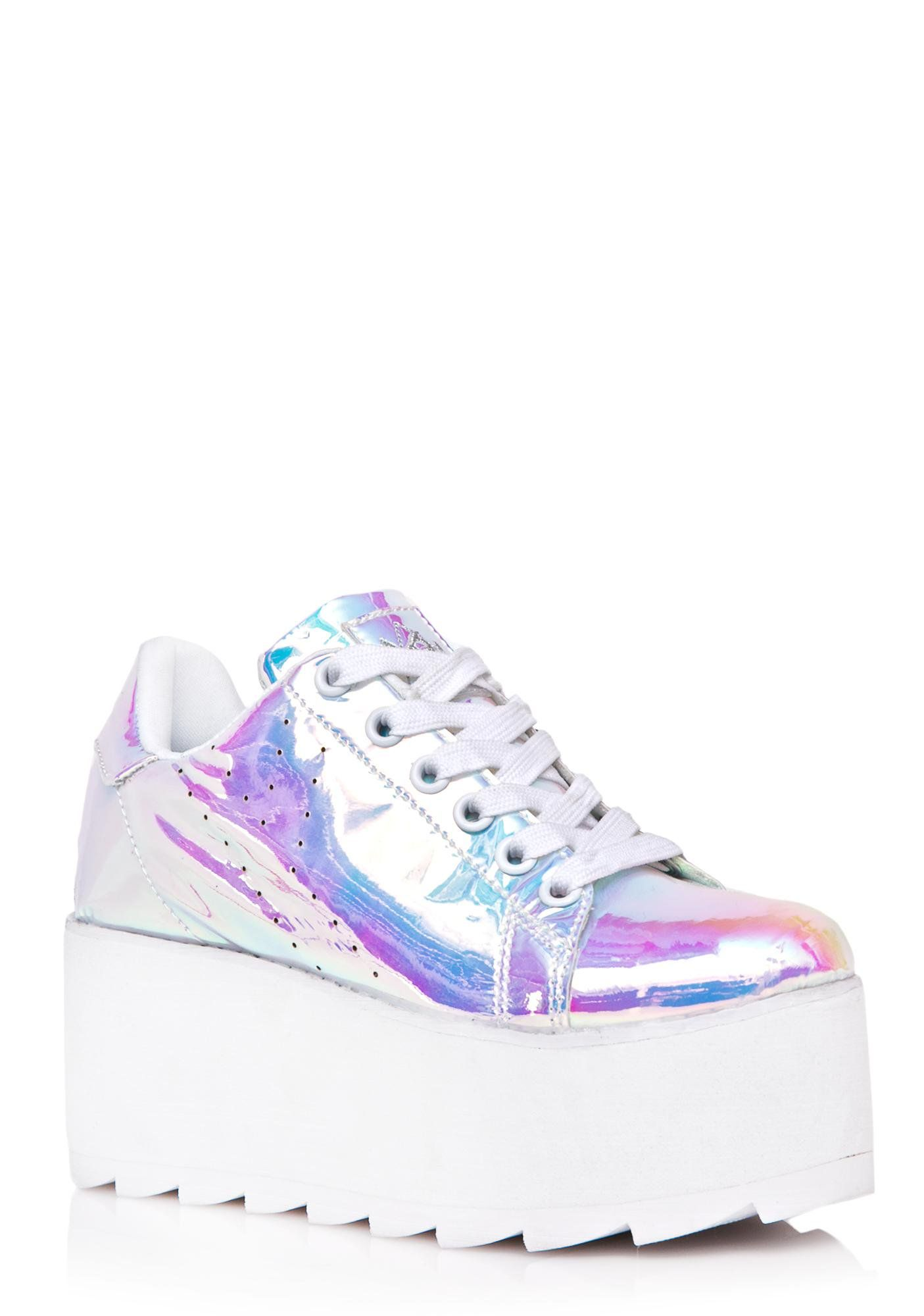 72ed7659ee97 Y.R.U. Lala Atlantis Platform Sneakers
