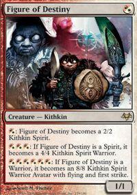Eventide   MTG  1  Figure of Destiny  Magic rare