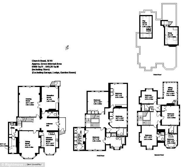 House lets you fight aliens from your attic in a spaceship spaceship here a floor plan shows the vast number of rooms in the victorian house ccuart Choice Image