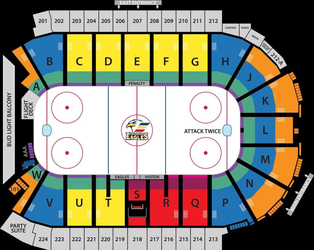 Eagles Stadium Seating Chart