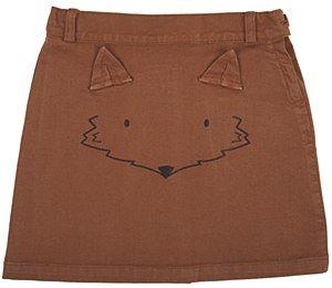Emile Caramel Fox Skirt