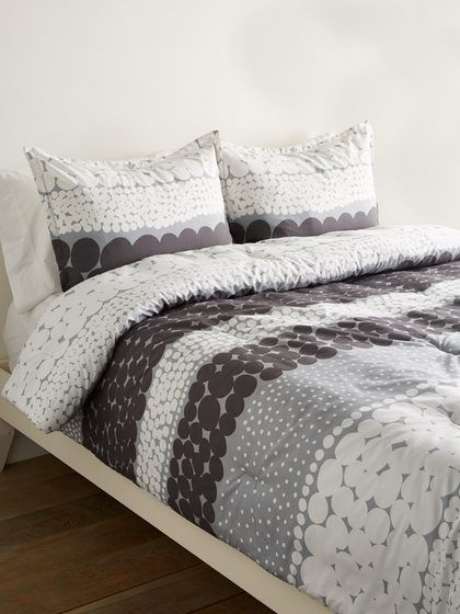Jurmo Cotton Comforter Set By Marimekko At Gilt Cotton Comforter Set Duvet Sets Comforter Sets