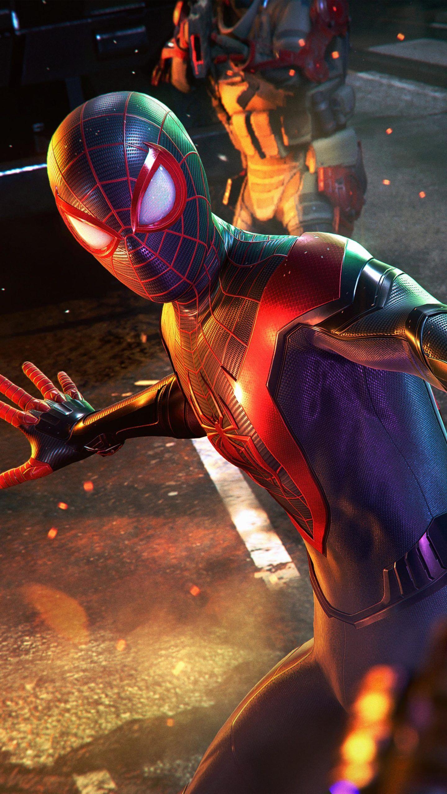 Marvel's Spiderman Miles Morales 4K Ultra HD Mobile