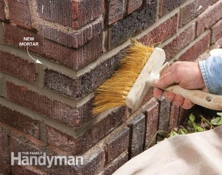 Masonry How To Repair Mortar Joints Home Repairs Concrete Stained Floors Tile Repair