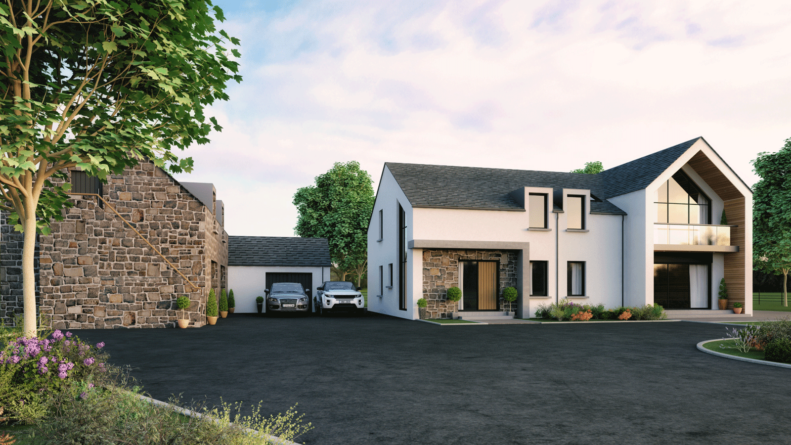 Northern ireland contemporary self builds google search Contemporary house designs uk