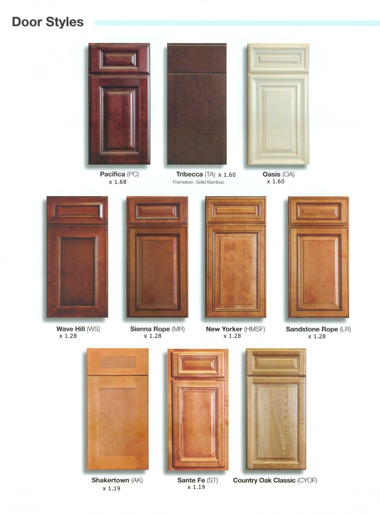 77 Kitchen Cabinet Wood Choices Kitchen Cabinets Countertops