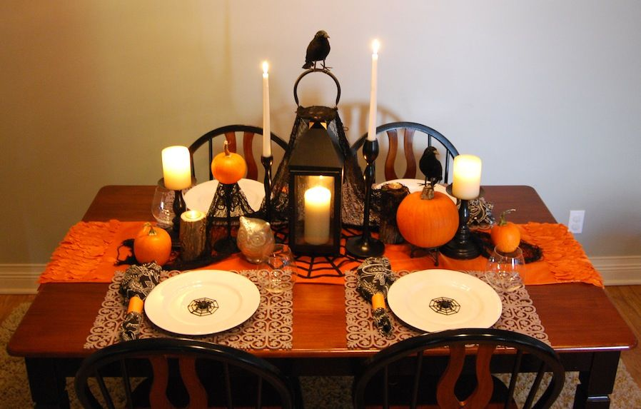 The Best 10 Halloween Table Decorations Ideas Halloween Table