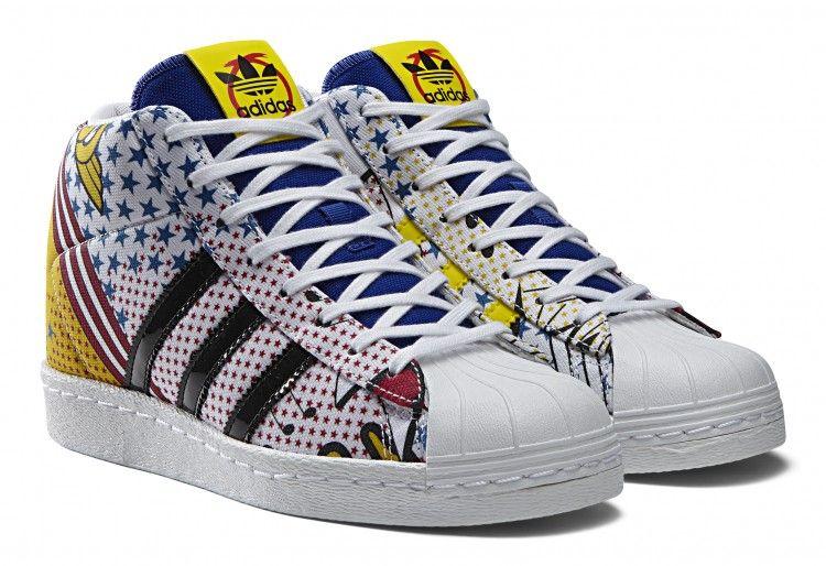 best service f1eac 81686 adidas Originals x Rita Ora  Comic Collection   Superstar Up