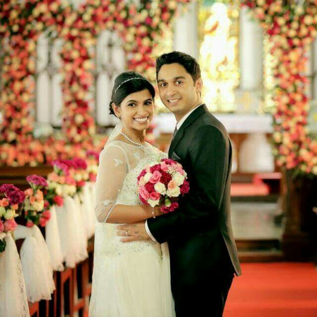 Kerala Marriage Bride Hair: #wedding #bride #christian Bride #kerala Wedding #makeup
