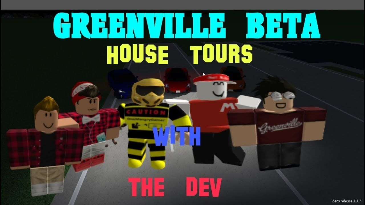 Roblox Greenville Beta House Tour With The Dev Roblox