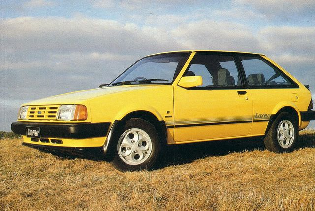 Covers The Rare Ford Kb Laser Sport 2 Door That Was Sold In