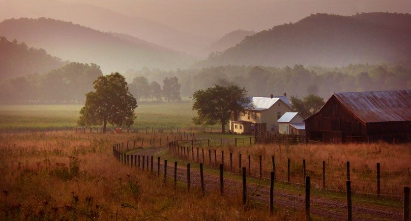 The beauty of West Virginia.