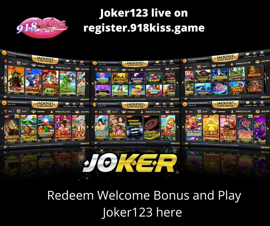 Joker123 is live now!