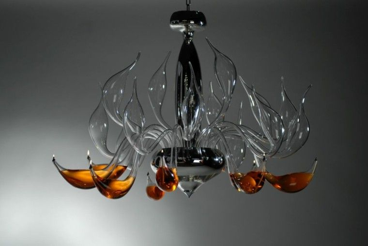 Design Lampen Lu Murano Kunst Und Tradition Wohnideen Fur Inspiration Design Lampen Geblasenes Glas Innenbeleuchtung