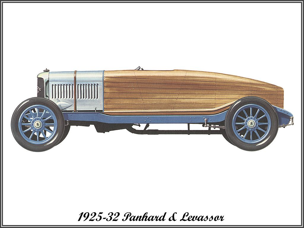 1925-32 Panhard & Levassor | Come Away With Me, Lucille | Pinterest
