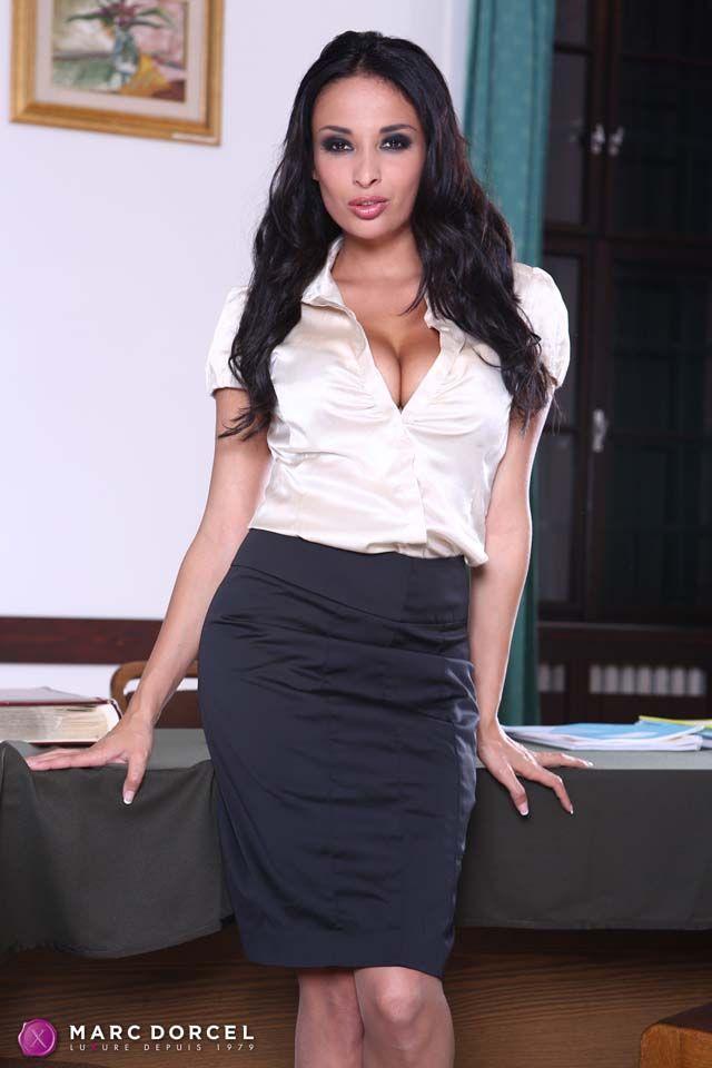 5b17b73f846d Anissa Kate | Anissa Kate | Satin skirt, Blouse, Satin blouses