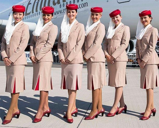 Image result for AIR EMIRATES uniform