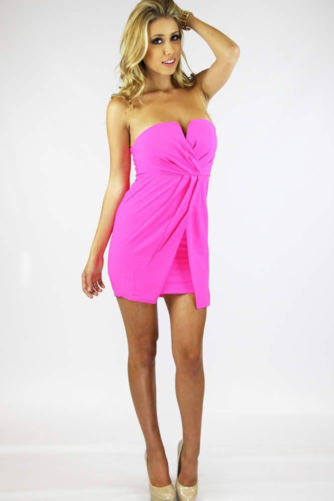 Pink Adrenaline Dress