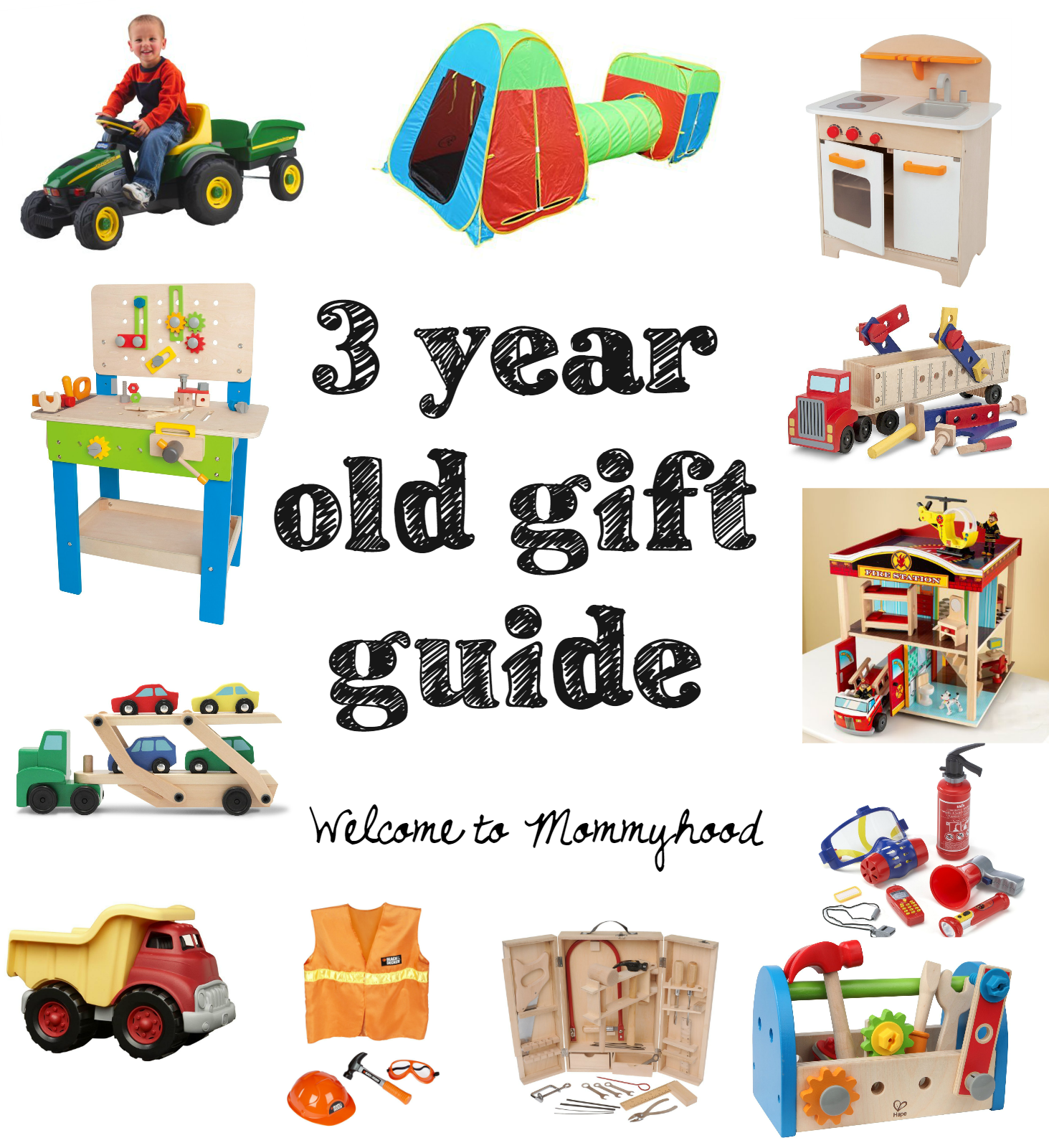 Gift guide for three year old boys from Wel e to Mommyhood