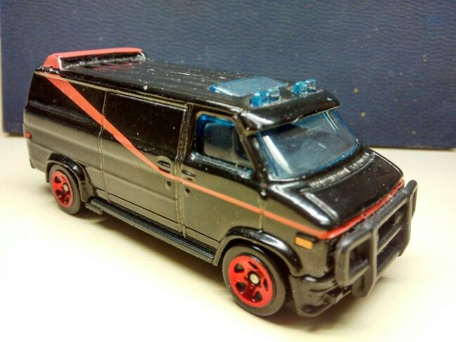 My Hot Wheels Gmc Vandura From My Movie Tv Car Collection Like
