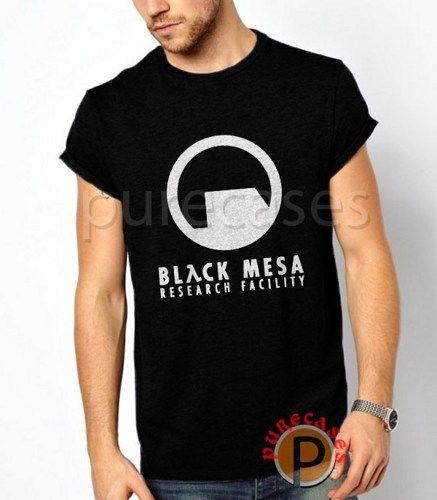BLACK MESA RESEARCH FACILITY Men's Black T-Shirt Tee