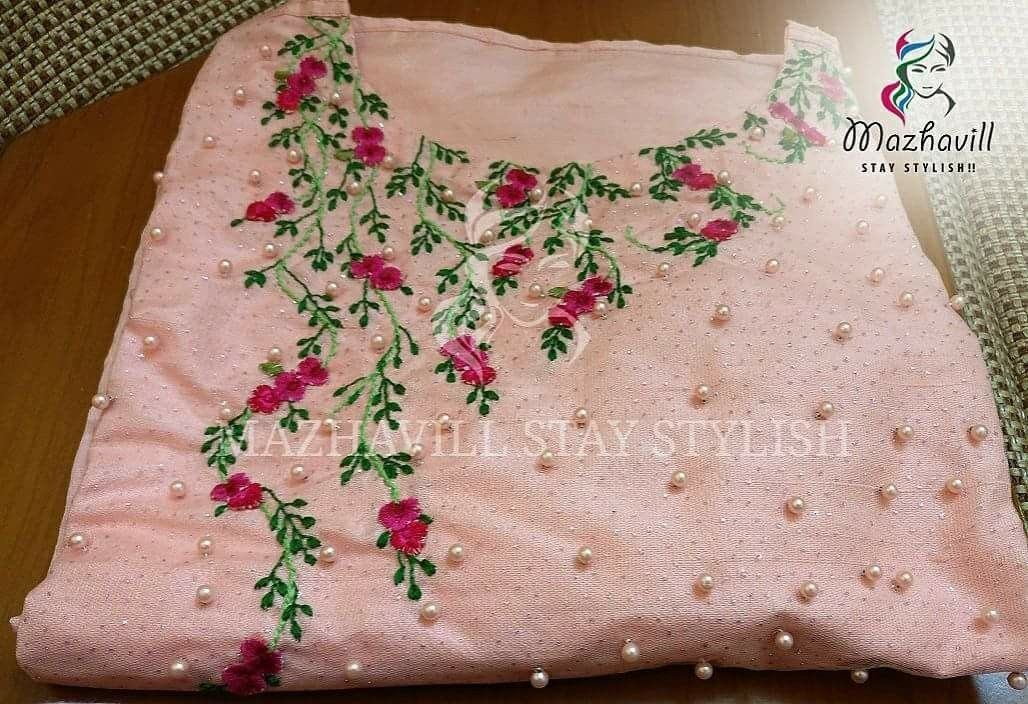 Pin By Anu Mahi On Dress Materials Pinterest Embroidery Hand