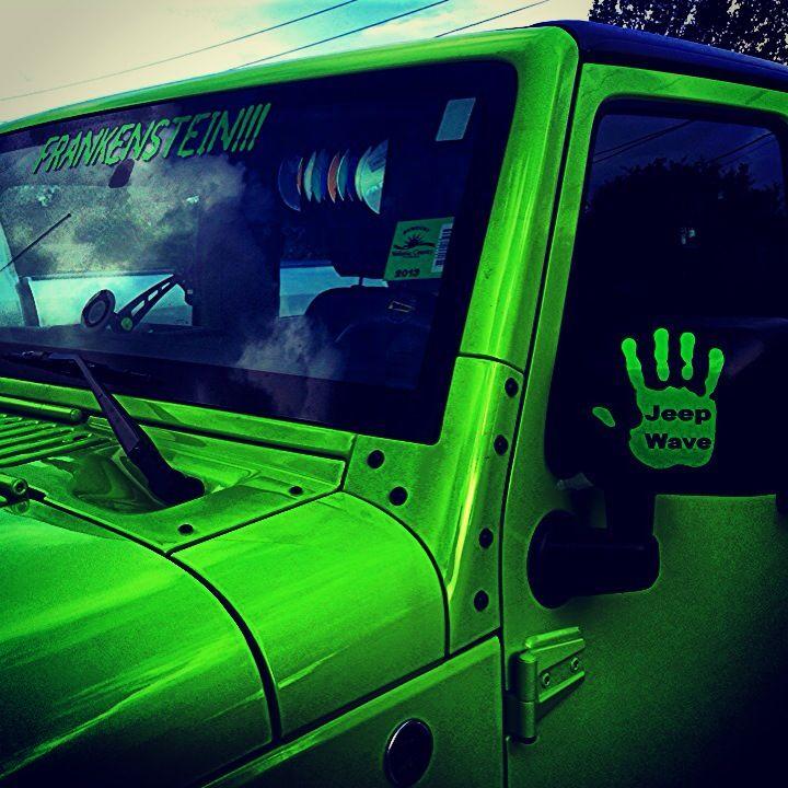 Jeep wave !!
