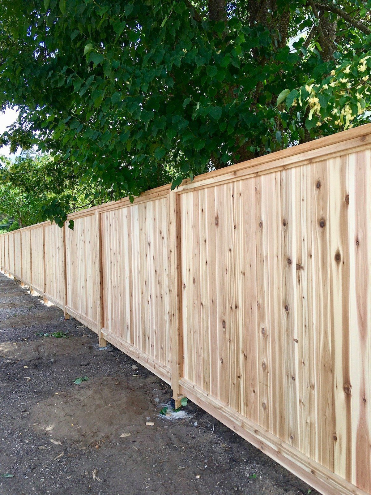 Privacy Fence Using Wood Fence Panels To Create Privacy Fencing Wood Privacy Fence Privacy Landscaping Wood Fence