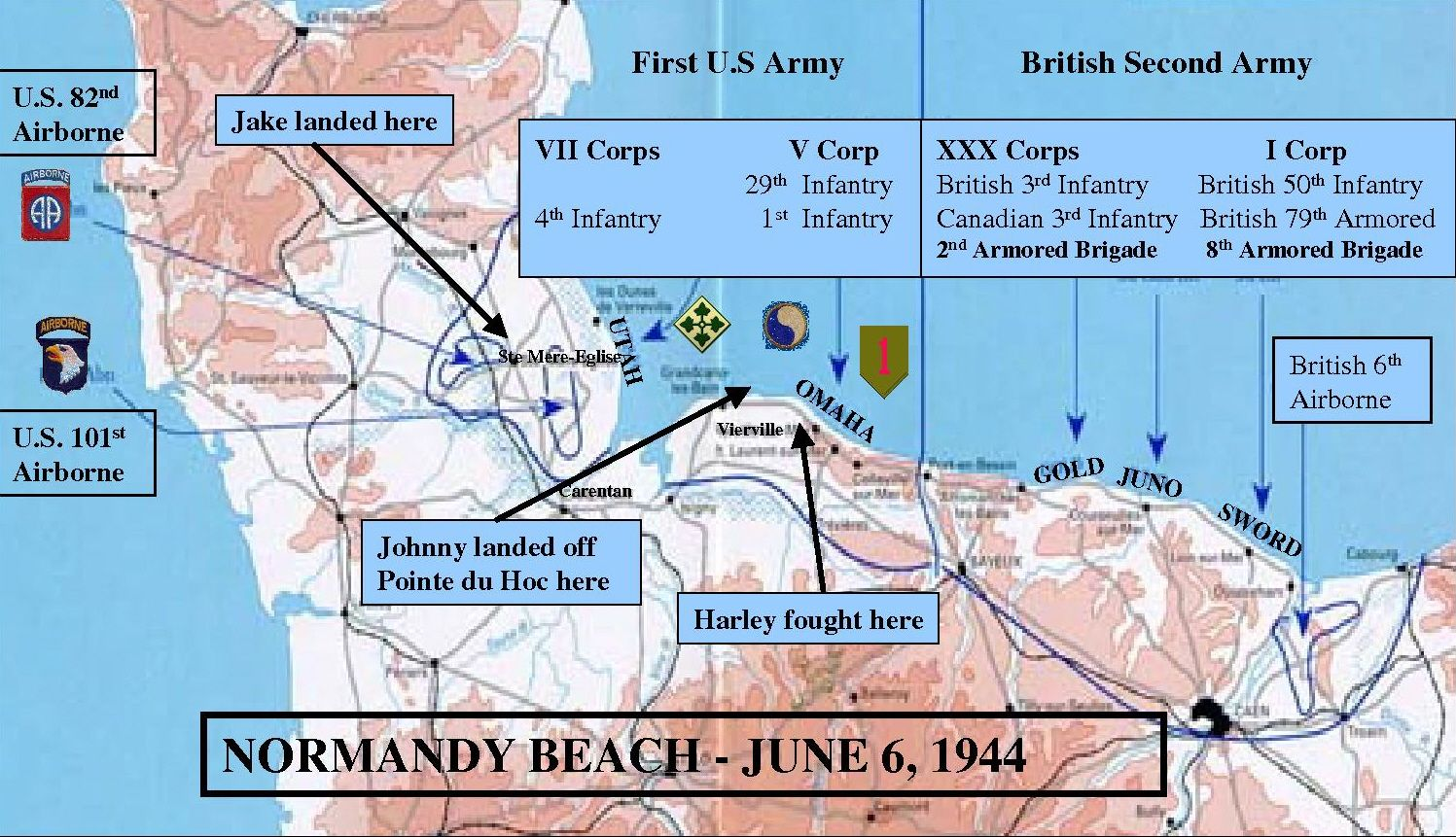 Operation Overlord France June 6 1944 D Day Pinterest
