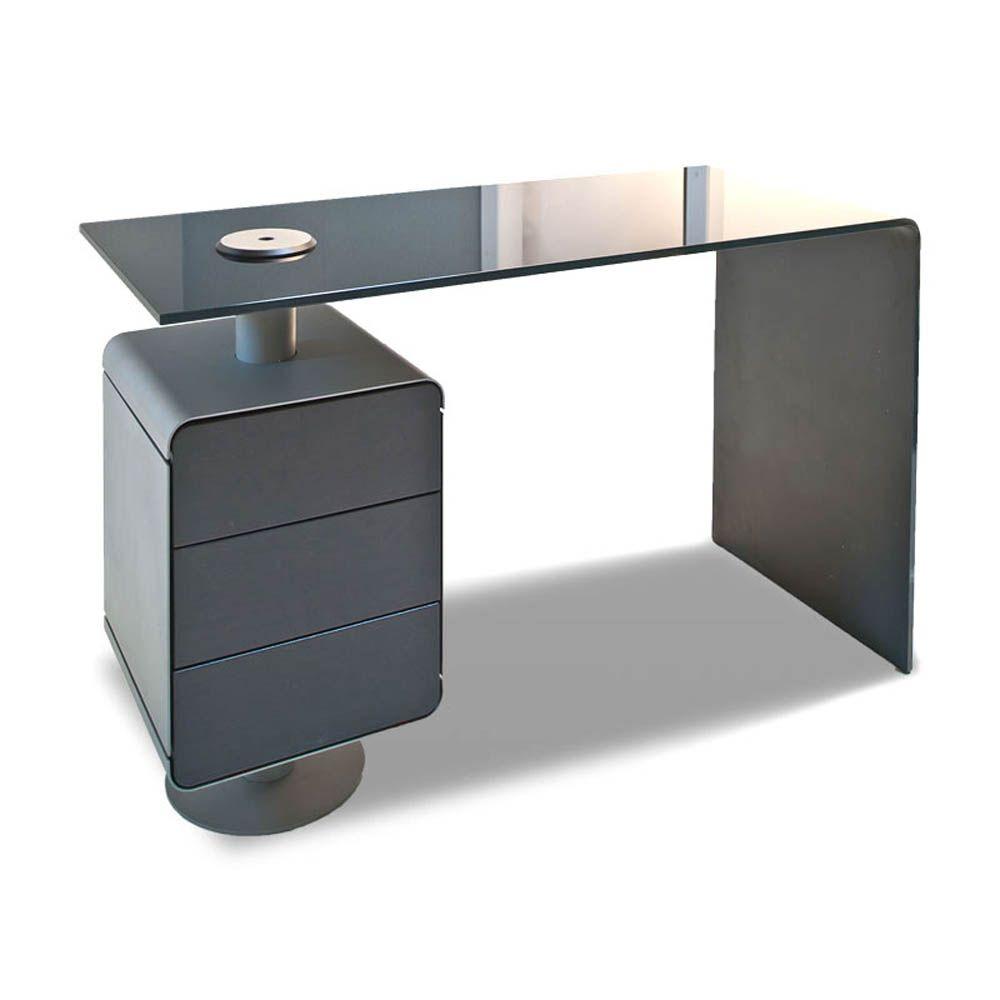 Gharieni Manikurtisch Mano Arbeitsplatte Aus Gebogenem Spezial Glas X2f X2f In Verschiedenen Holzdekoren Aus Unsere Arbeitsplatte Schubladen Schwarzbraun