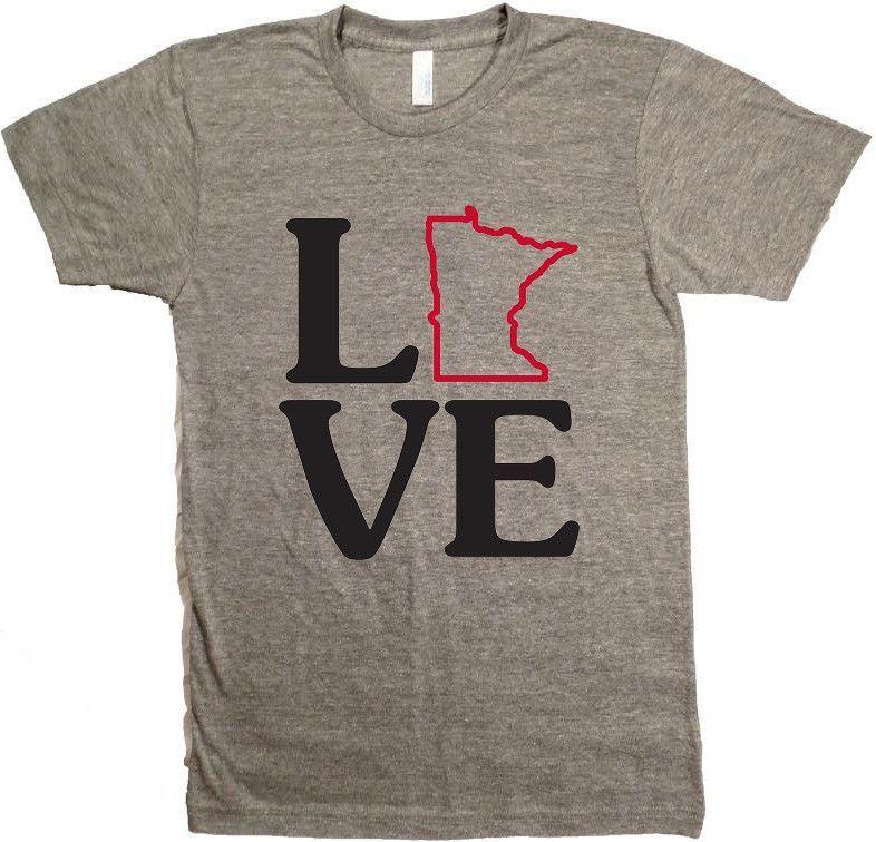 Love Minnesota TShirt Minnesota Awesome Minnesota