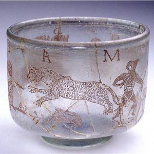 Romeinse wijnbeker - gevonden in Trier (Duitsland) - MapMyVisit -