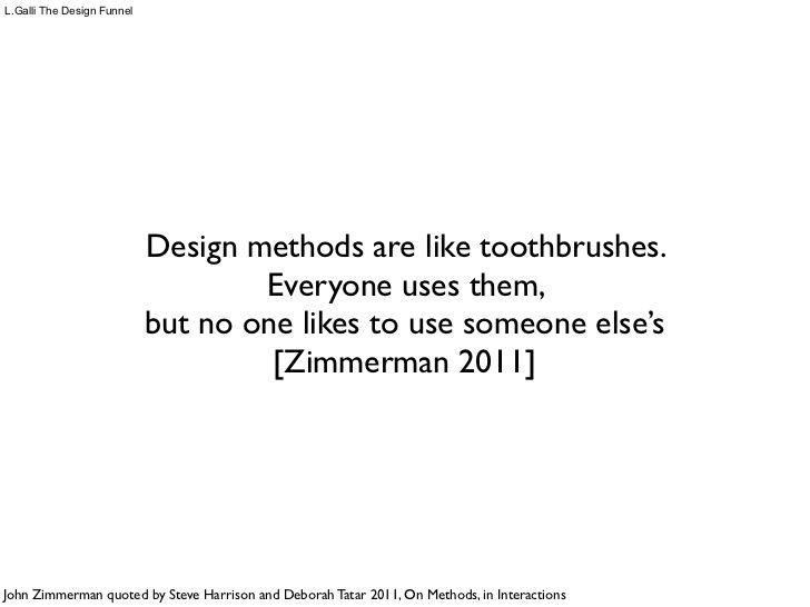 The Design Funnel