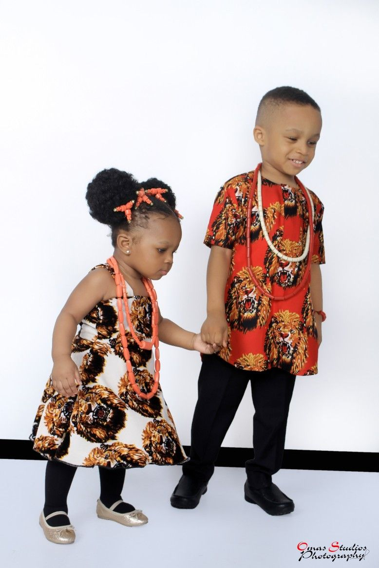 Beautiful Children On Igbo Traditional Wear Traditional Wear For