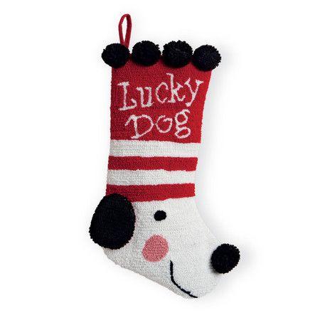 Found it at Wayfair - Lucky Dog 3D Hooked Stocking http://www.wayfair.com/daily-sales/p/Printed-Stockings-from-%2410-Lucky-Dog-3D-Hooked-Stocking~OWH1261~E14242.html?refid=SBP.rBAZEVSJ1mIJ8RlP17d2ArulbvFcs0M4s76d3KMjMVg