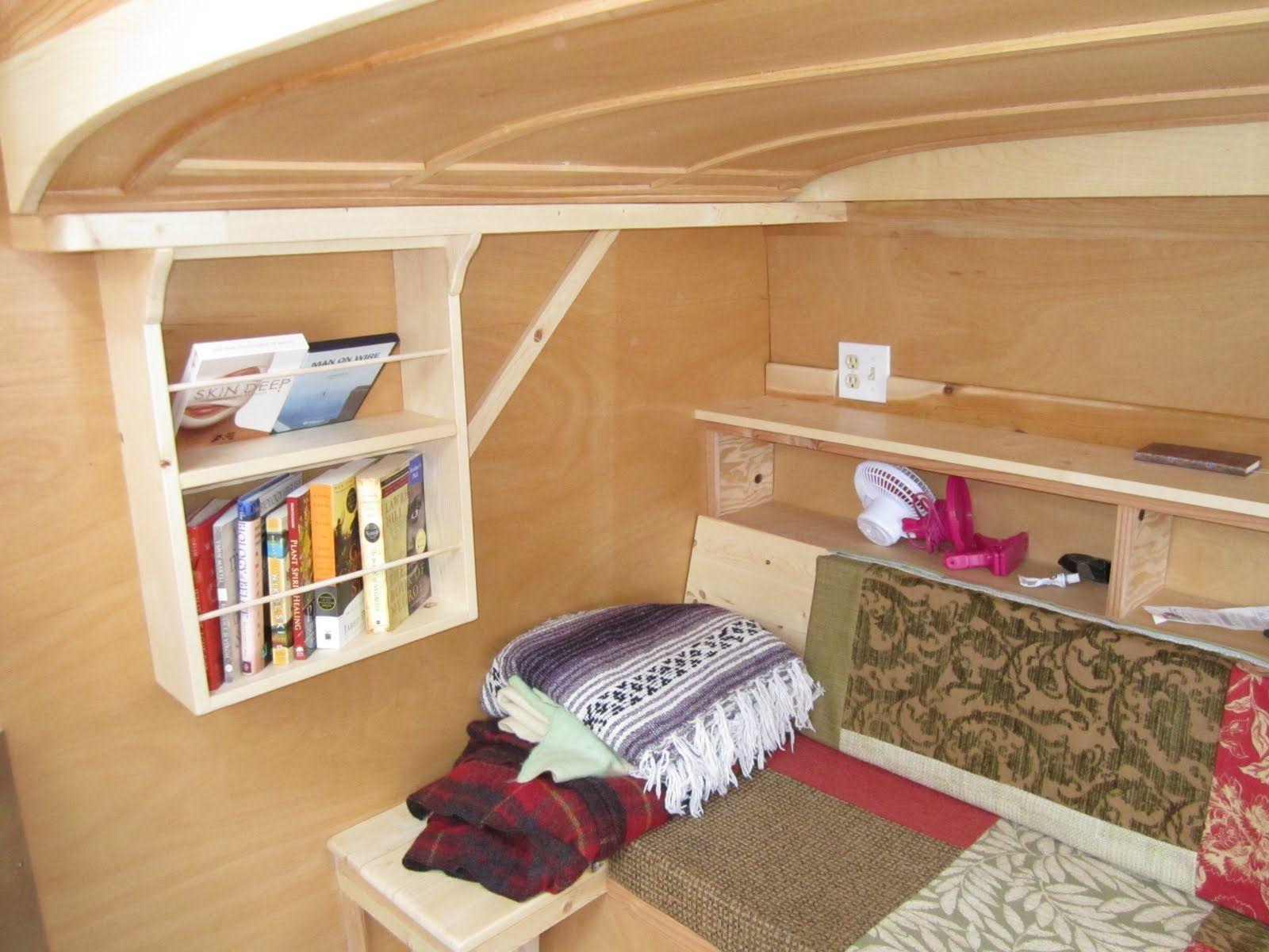 Tiny Home Teardrop Trailer camping trailers Pinterest Teardrop