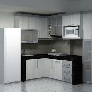 70 Models Of Minimalist Kitchen Set Pictures Ide Dapur Dapur Kecil Dapur