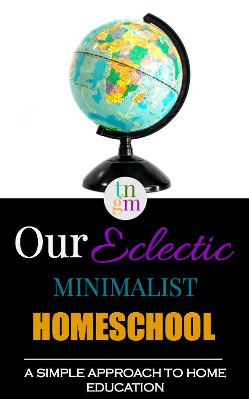 Minimalist Classroom Activities ~ Our eclectic minimalist homeschool a simple approach to