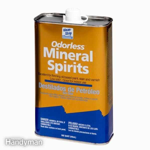 Paint Thinner And Mineral Spirits Both Work Well For Cleaning Oil Based Paint But There Are Subtle Differ Paint Thinner Mineral Spirits Cleaning Paint Brushes