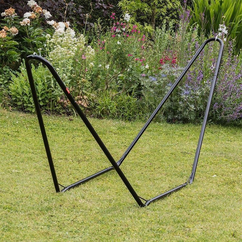 garden metal info striped supporting with cat self green ft frame hammock
