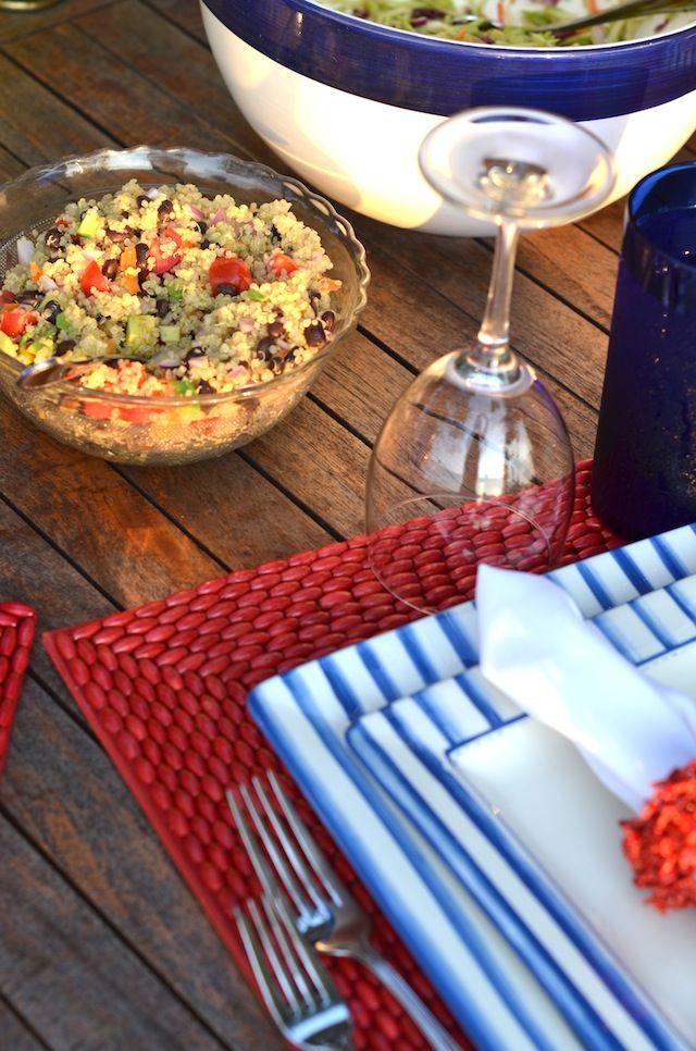 Krystal Schlegel - Fashion blog - Personal Style : Summer Quinoa Recipe