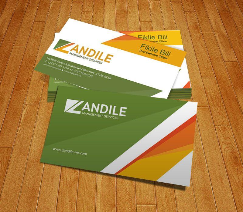 Zandile Management Services - Business Card Design | MyNkosi ...