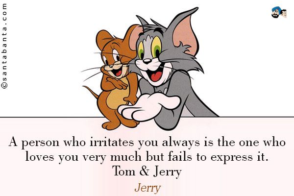 Tom And Jerry Inspirational Quotes Thoughts Sayings Messages Images Wallpapers Photos Pictures