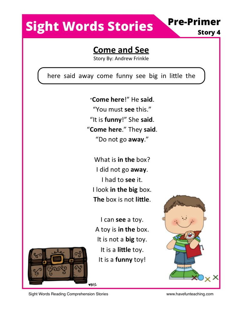 Come and See | Homeschool | Pinterest | Comprehension worksheets ...