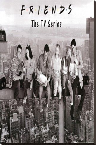 Friends On Scaffolding Over New York City TV Series  A0 A1 A2 A3A4 photo poster