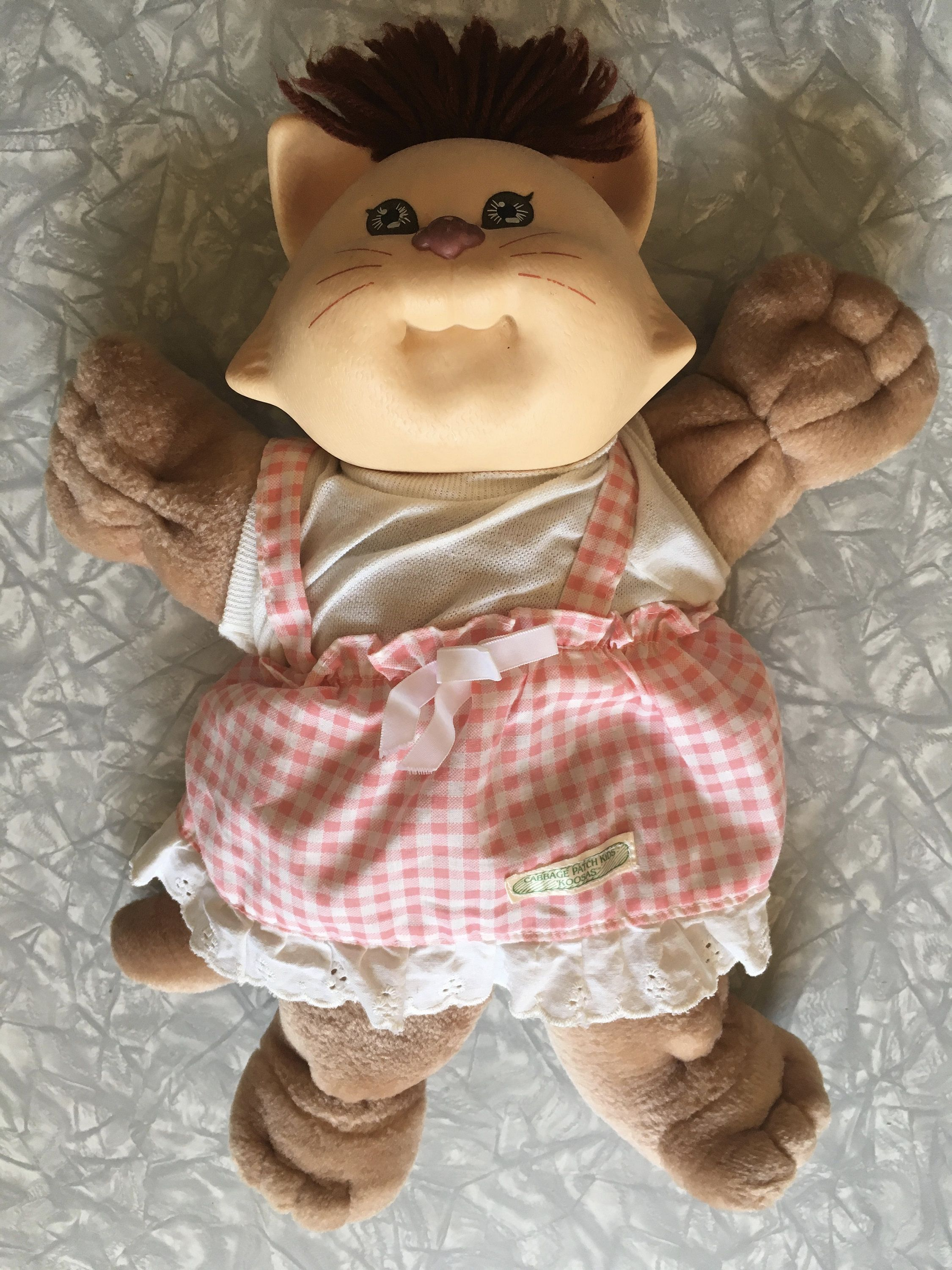 1983 Cabbage Patch Kids Koosas Cat With Outfit Coleco Etsy Cabbage Patch Kids Patch Kids Cabbage Patch Babies