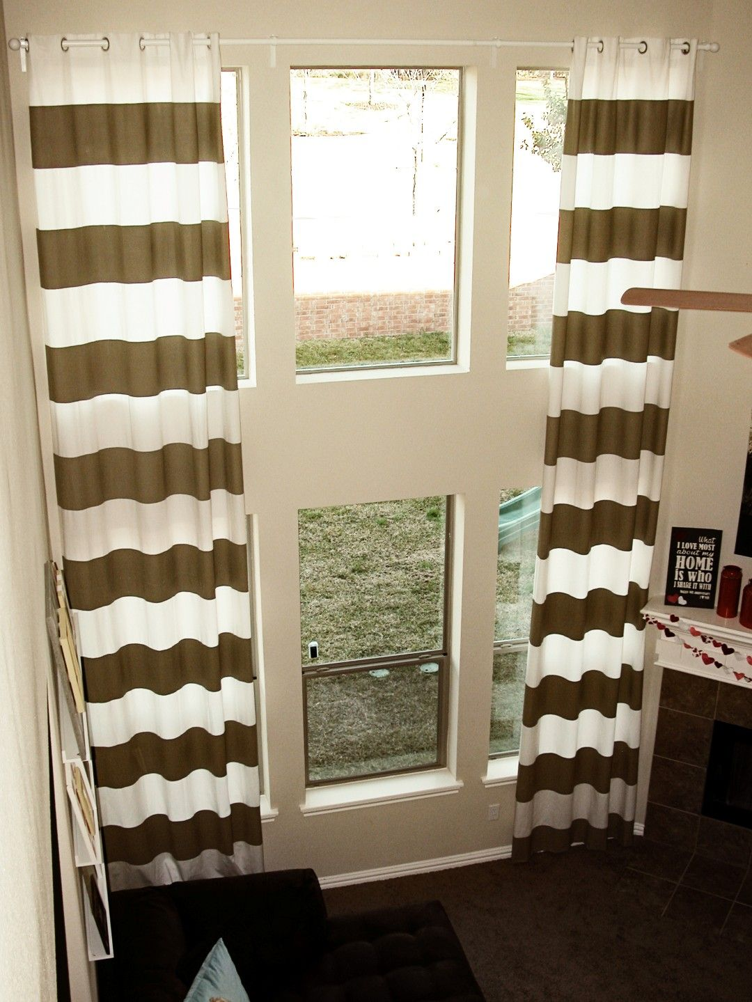 Window dressing ideas for arched windows  edit large  curtains u walls  pinterest  living rooms