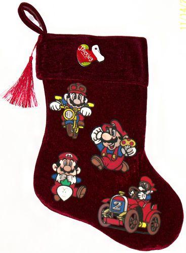 Super Mario Christmas Stocking.Pin By Lucrecia On Super Mario Bro Christmas For Jaylen