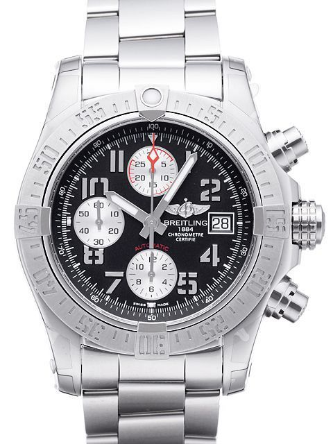 Breitling Avenger Ii Chronograph A1338111 Bc33 170a Automatik Breitling Kautschuk Armband Uhren