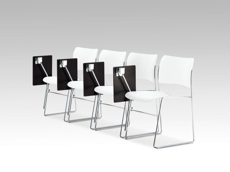Howe 40 4 Chair With Writing Tablet